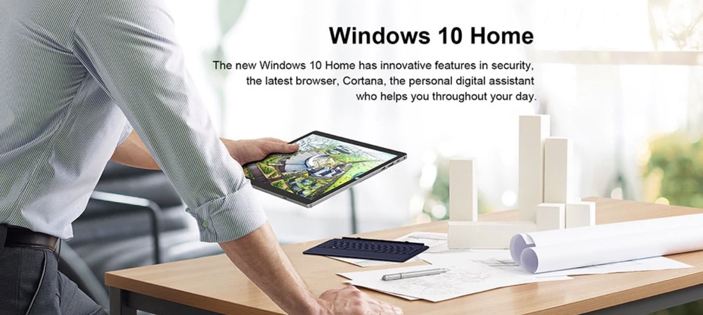 Teclast X6 ProはWindows 10 Homeを搭載。