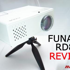 FUNAVO製RD815プロジェクターのレビュー!ホームシアターを安価に簡単構築!