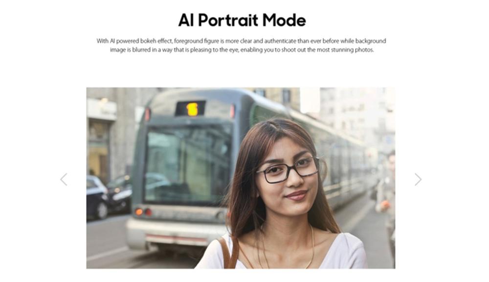 LEAGOO S10はAIポートレート撮影モードに対応しており、美しいポートレート撮影が楽しめます。