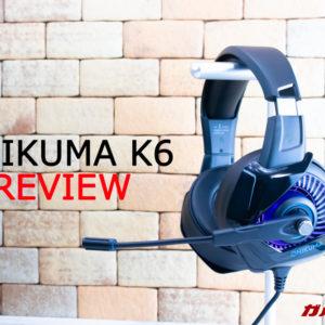 ONIKUMAヘッドセット「K6」の実機レビュー!