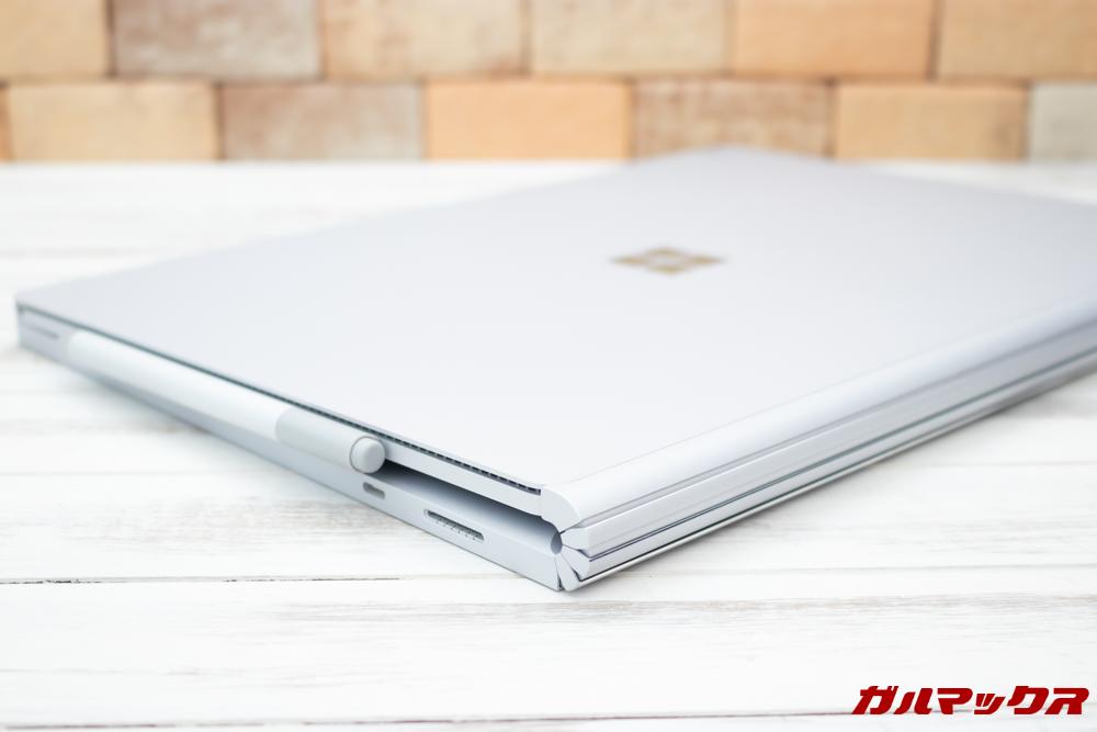 Surface Book 2のデザインがスタイリッシュでカッコいい。