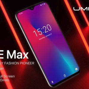 UMIDIGI One Maxのスペックと詳細!バンド・機能・最安値まとめ!