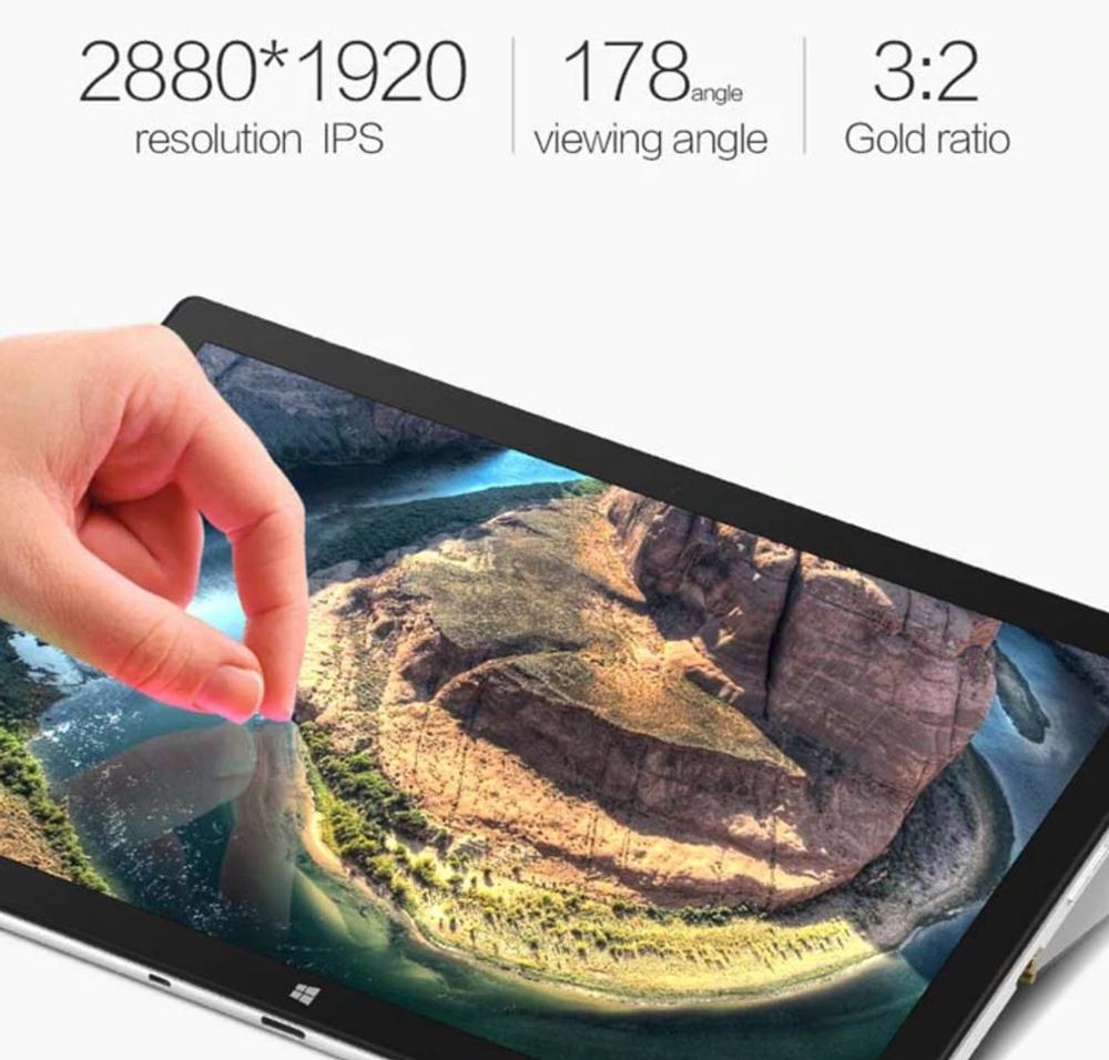 VOYO VBook i7 Plusは3Kディスプレイを搭載しているので非常に高精細です。