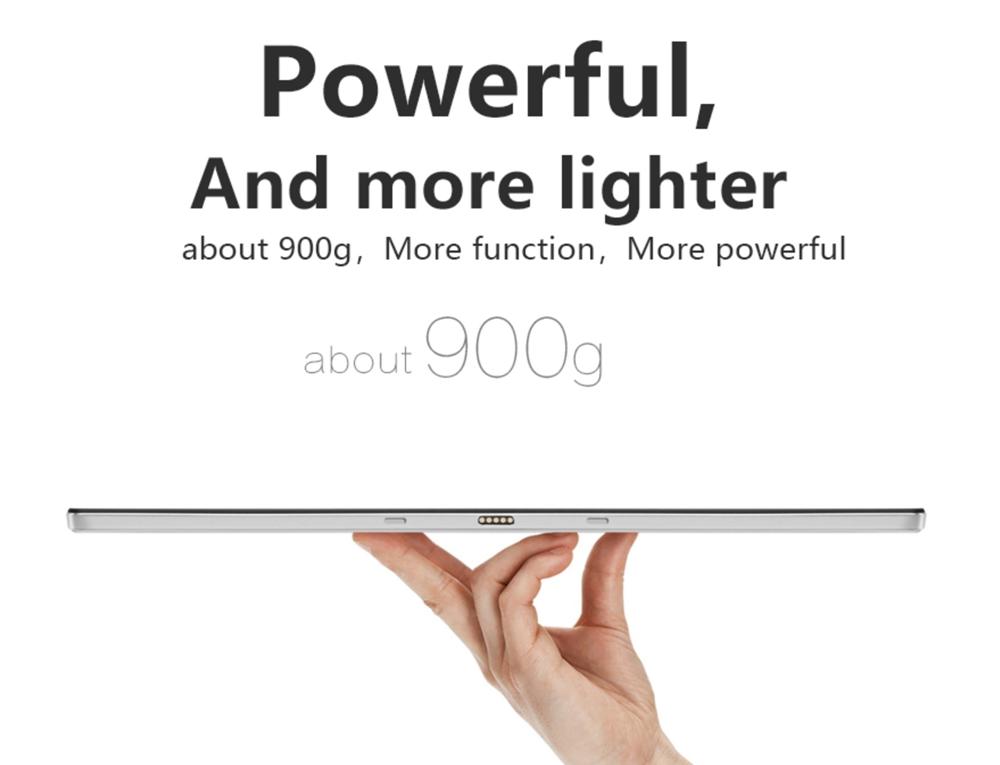 VOYO VBook i7 Plusの重量は僅か900gで超軽量。