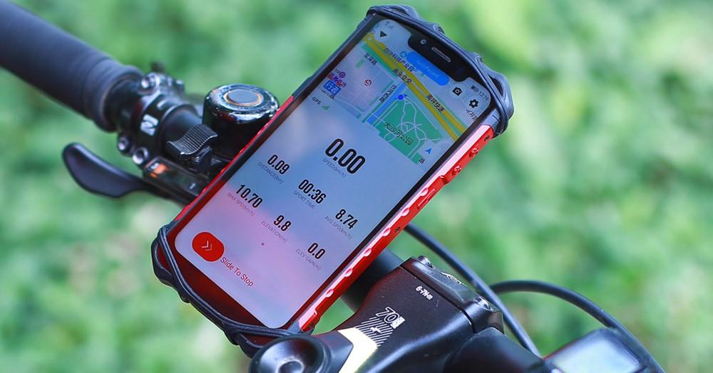 Ulefone Armor 6は防水防塵性能を有しているのでバイクやロードバイクのナビゲーションとしても活用可能です。