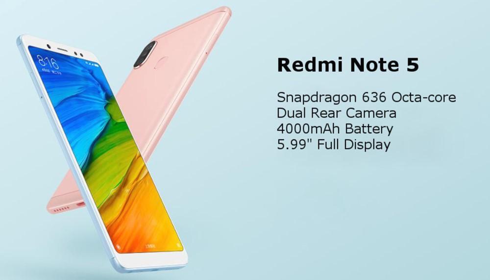 Xiaomi Redmi Note 5/メモリ3GB版