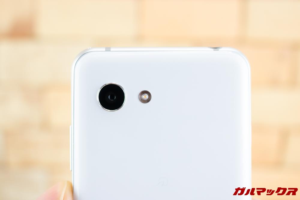 AQUOS R2 Compactはシングルカメラを搭載。