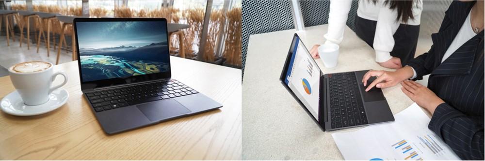 AerobookはWindows 10を搭載しているので日本で販売しているノートパソコンと遜色ない使い心地であることもポイントです!