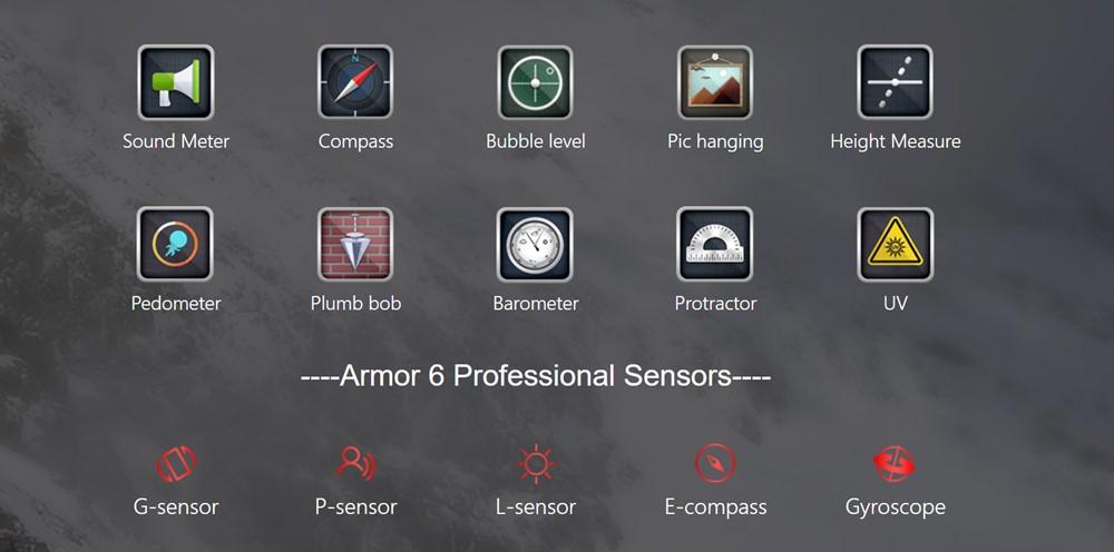 Ulefone Armor 6に役立つツールキットがプリインストールされています。