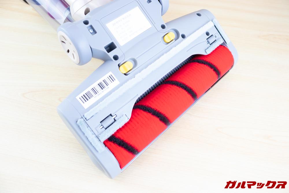 Xiaomi JV71 Vacuum Cleanerのブラシは丸いスポンジ形状。