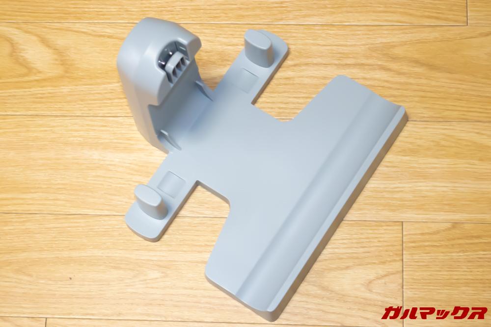 Xiaomi JV71 Vacuum Cleanerの充電台は直置きタイプなので壁に穴を開けなくても設置出来ます。