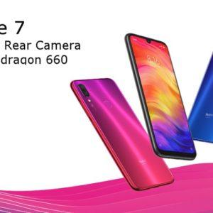 Xiaomi Redmi Note 7のスペックと詳細!機能・価格まとめ!