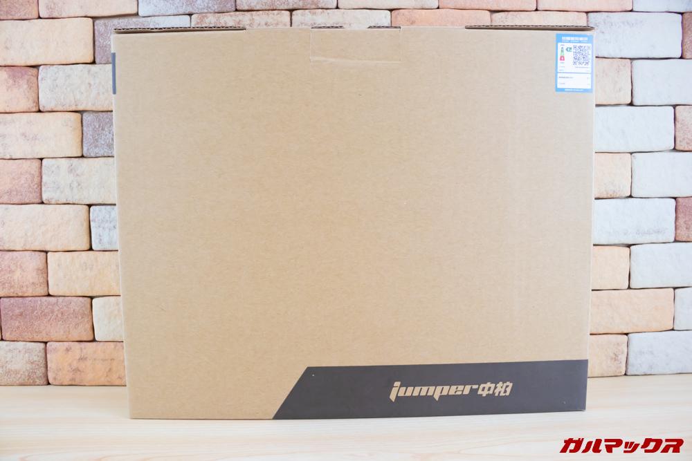 Jumper EZbook 3 Proは茶色いダンボール箱に入って届きました。