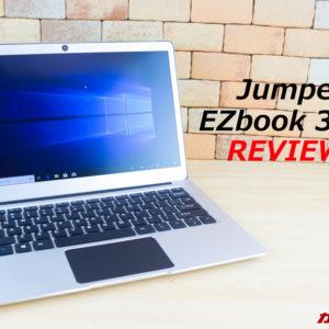 Jumper EZbook 3 Proのレビュー。スペック、特徴、使い勝手、価格まとめ