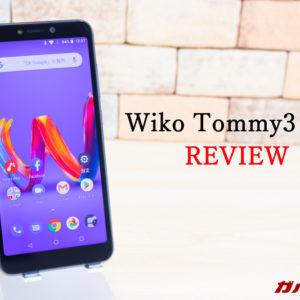 Wiko Tommy3 Plusのレビュー!スペック、機能、価格まとめ!