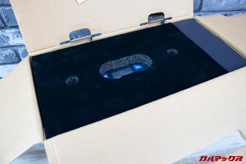 Alfawise S420の梱包は非常に丁寧です。