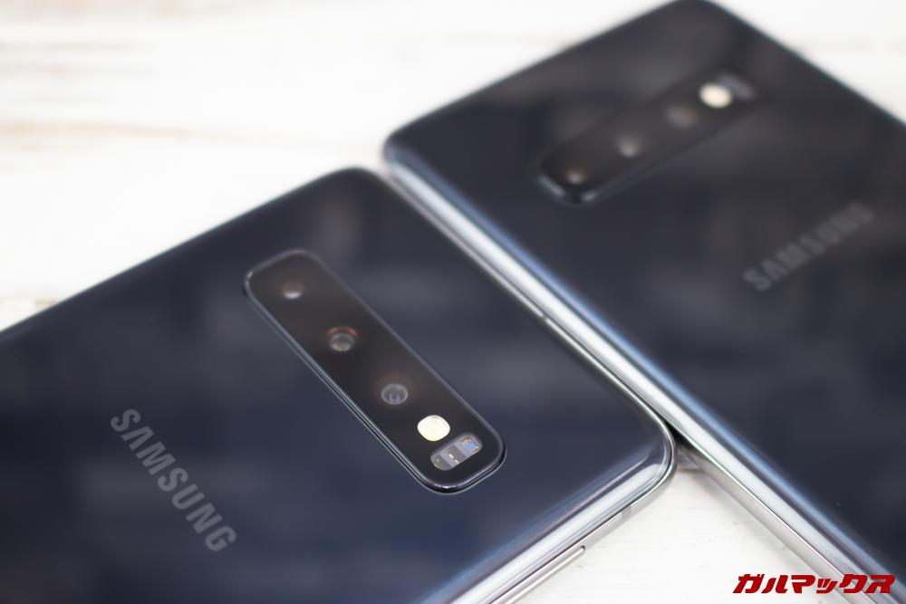 「Galaxy S10」「Galaxy S10+」はトリプルカメラを搭載