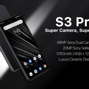 UMIDIGI S3 Proのスペック、特徴、価格まとめ