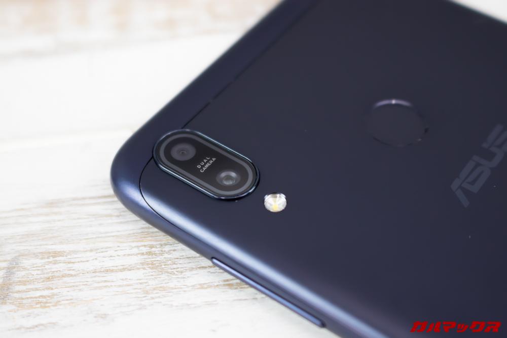 ZenFone Max (M2)のカメラはデュアルカメラを搭載。