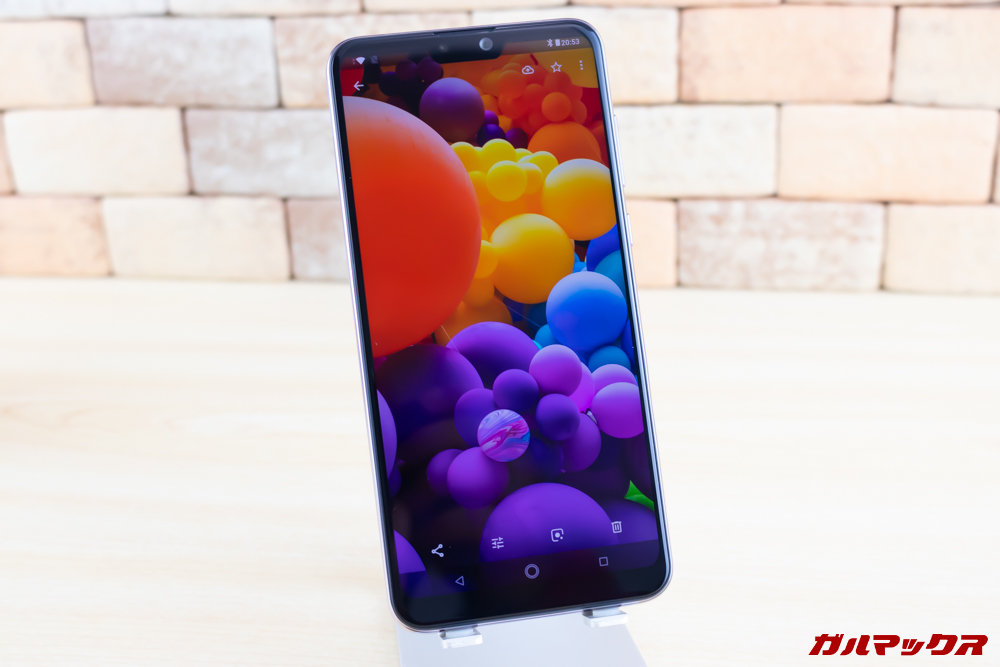 ZenFone Max Pro (M2)は高解像度パネルを搭載。