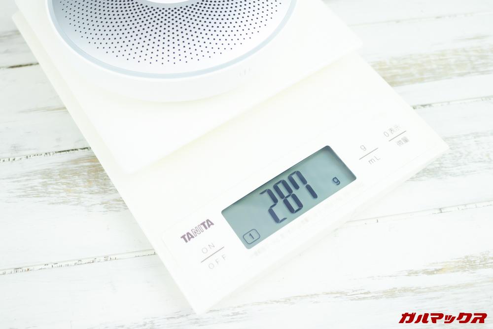 OfficeCore M2の重量は287g