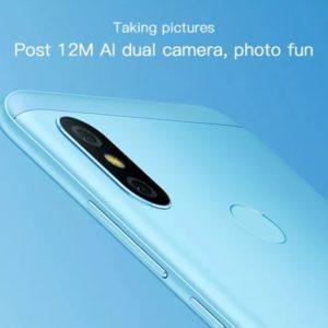 Xiaomi Redmi 6 Pro/RAM3GB版(Snapdragon 625)の実機AnTuTuベンチマークスコア