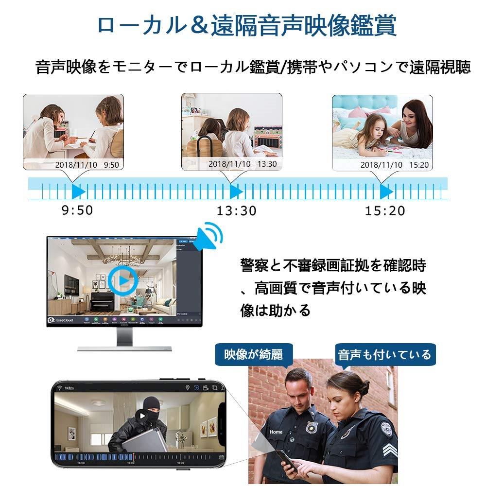 YESKAMOの防犯カメラ
