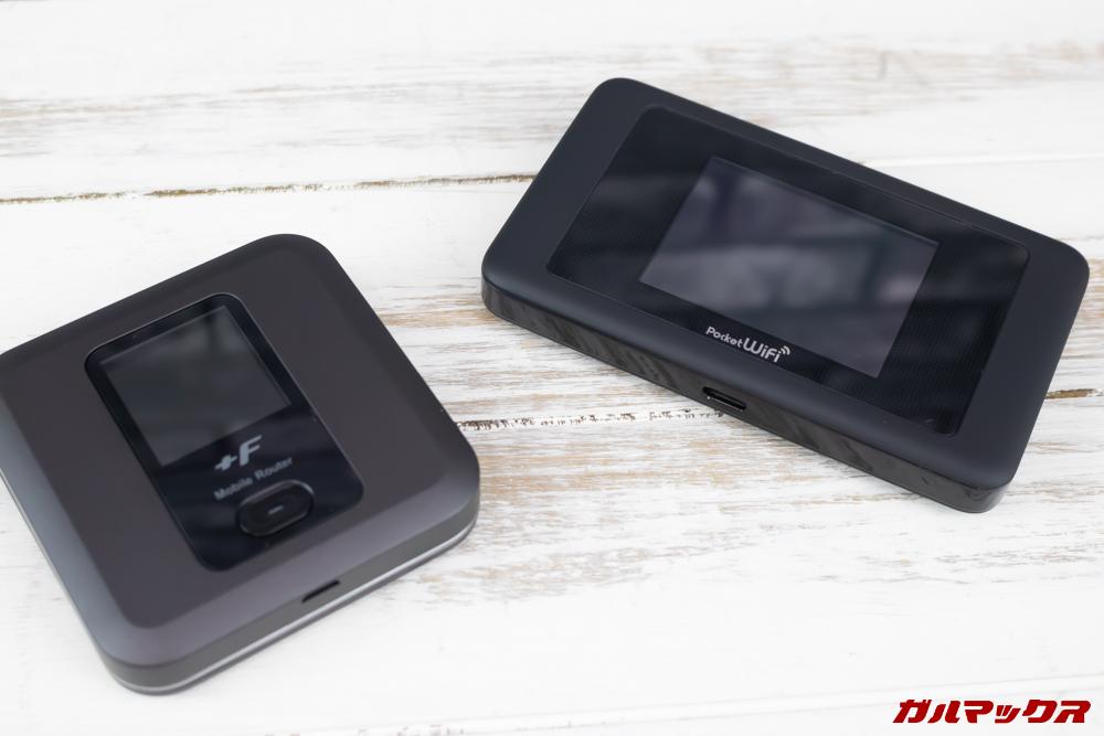 モナWi-Fiはルータセットもあり。
