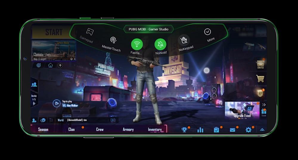 Black Shark 2は自分好みのゲームセッティングを行うGame Dockを搭載