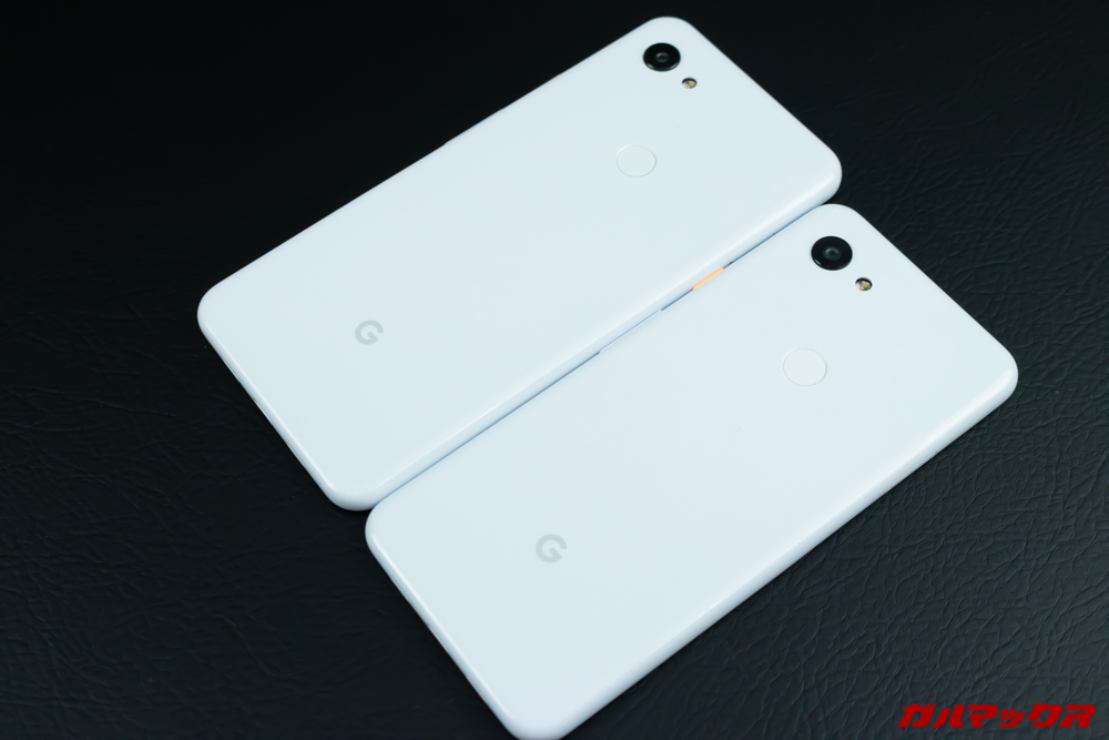 Google Pixel 3a/3a XLのホワイトは指紋の付着が目立ちにくい