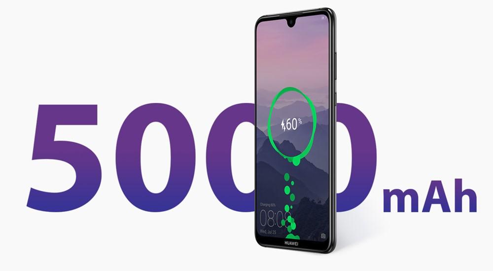 Huawei Y Maxは5000mAhバッテリーを搭載
