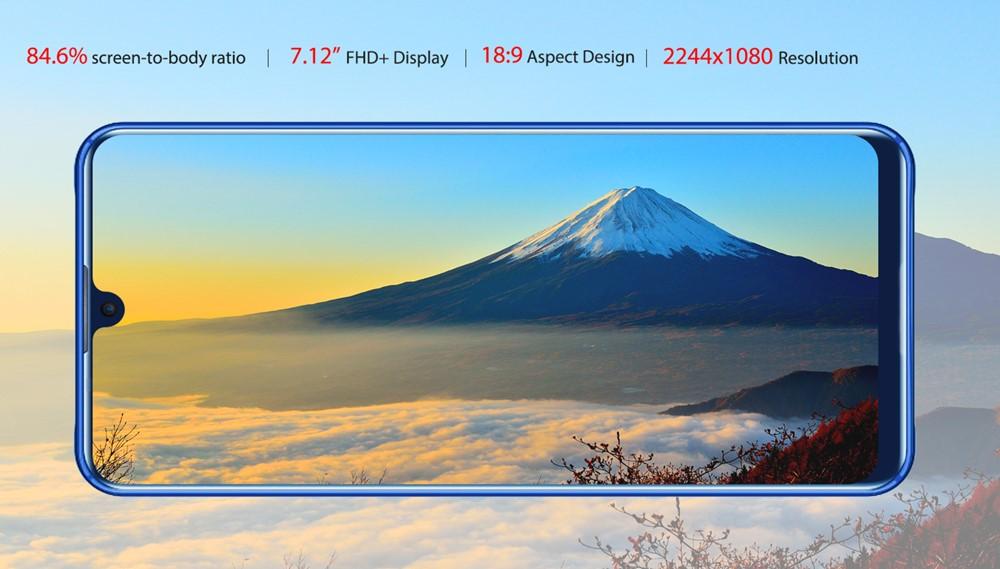 OUKITEL K9は7インチ超えの大型ディスプレイを搭載