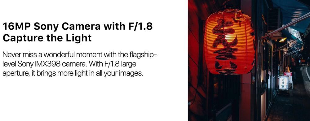 UMIDIGI A5 Proは暗所撮影に強いカメラ仕様。