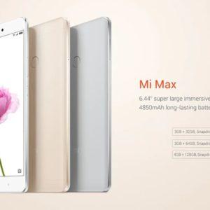 Xiaomi Mi MAX/メモリ3GB(Snapdragon 650)の実機AnTuTuベンチマークスコア
