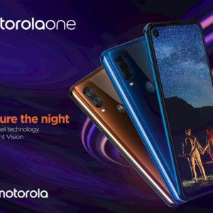 Motorola One Visionを正式発表。日本発売に期待
