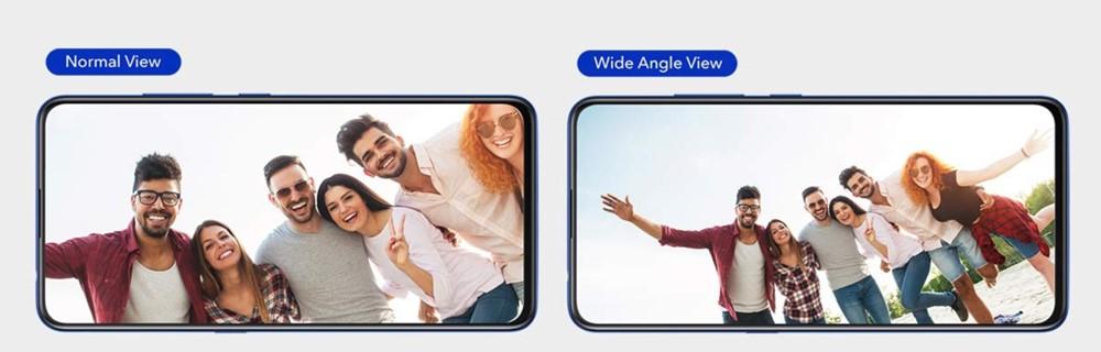 vivo V15 Proは超広角撮影に対応しています。