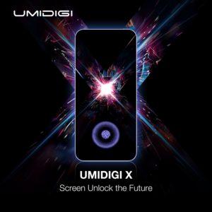 UMIDIGI Xは画面内蔵指紋センサーと有機ELディスプレイを搭載か