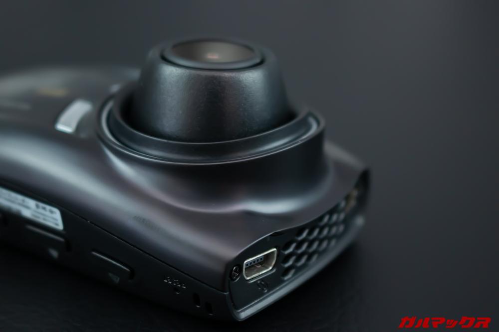 GoSafe S70GS1のカメラは大きく出っ張っている