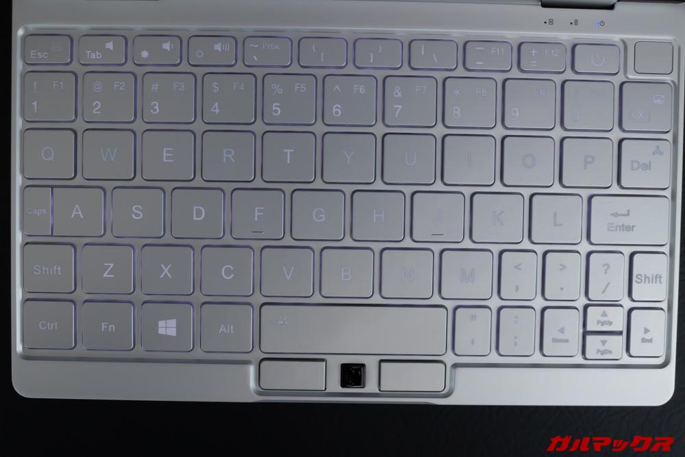 OneMix 3のキーボードは配列がやや特殊