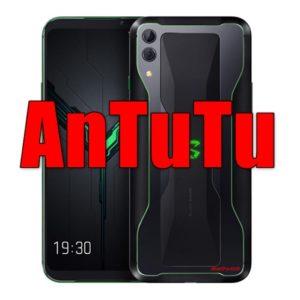 Xiaomi Black Shark 2/メモリ12GB版(Snapdragon 855)の実機AnTuTuベンチマークスコア