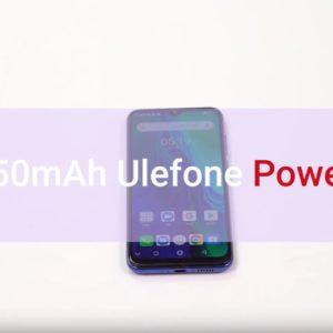 Ulefone Power 6の驚異的なバッテリー持ちを確認できる動画を公開