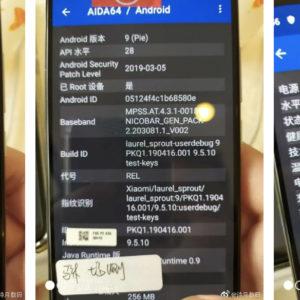 Xiaomi CC9eのグロ版はスナドラ665搭載のAndroid One仕様?