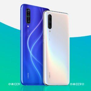 XiaomiがMi CC9/CC9eのオフィシャルイメージを発表