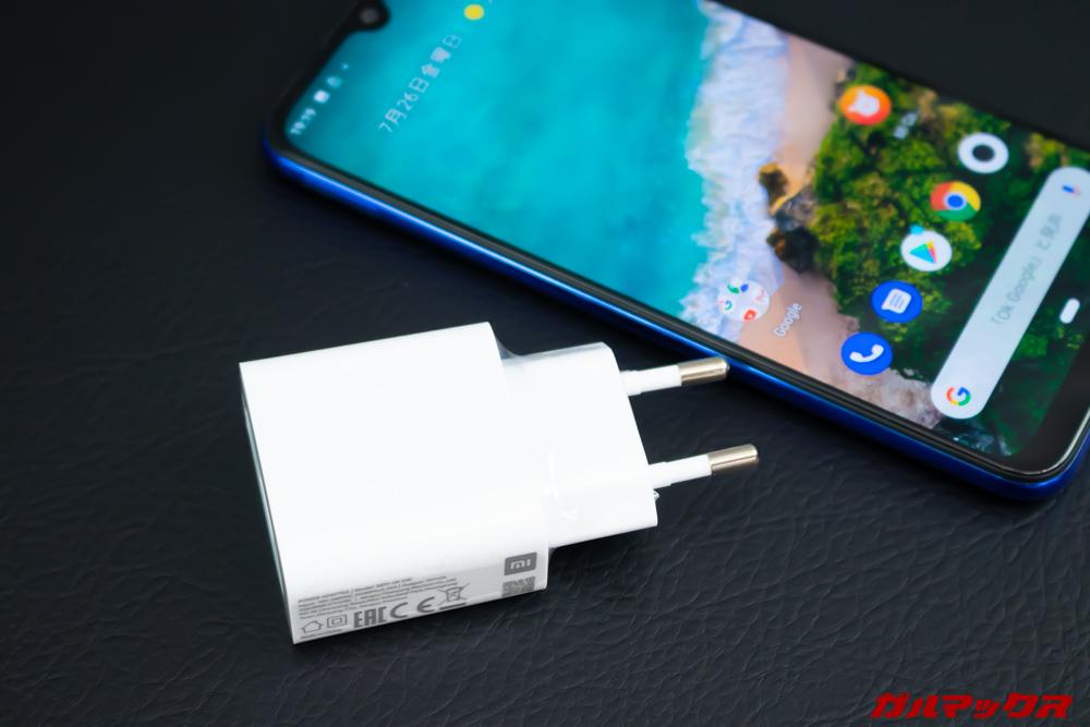 Xiaomi Mi A3は大容量バッテリーを搭載していますが、それ以外は価格なりな仕様です。