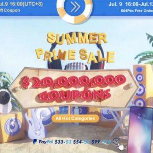 Banggood、夏の特大セールを開催!