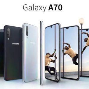 Galaxy A70、6.7型 有機EL、トリプルカメラ、画面内蔵指紋センサーを搭載して登場!