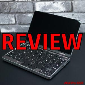 MiniBook(N4100版)のレビュー!安価に手に入る実用的な8インチUMPC!