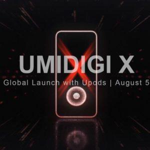 UMIDIGI Xに関する動画が公開。低価格で画面内蔵指紋センサー搭載をアピール