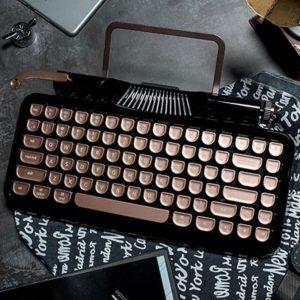 レトロなBluetoothメカニカルキーボード「Rymek」がクラファンを経て一般発売開始!