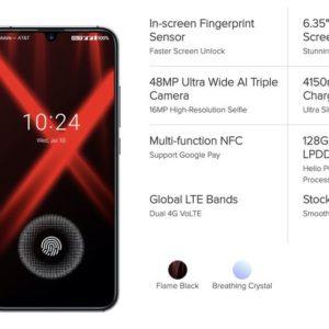 UMIDIGI Xが登場。画面内蔵指紋センサー、トリプルカメラ、Helio P60搭載のミドルレンジスマホ